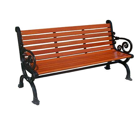 铁艺公园休闲椅