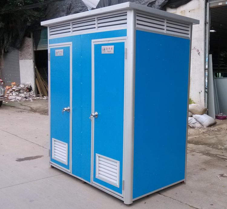 双人位移动厕所彩钢型
