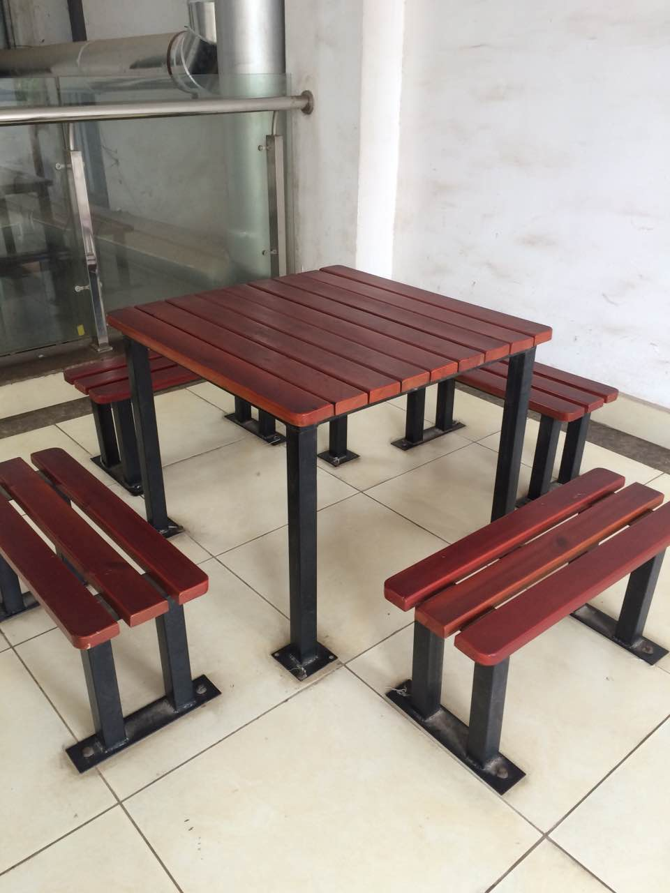公园休闲桌椅组合