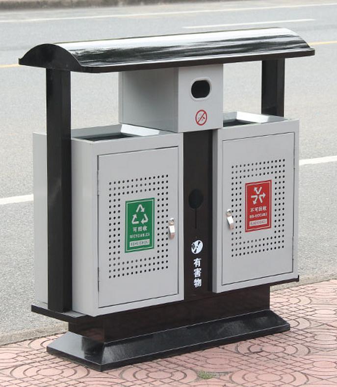 武汉不锈钢垃圾桶冲孔垃圾桶